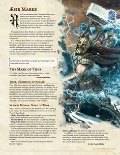 Thor Norse, Dungeons And Dragons Rules, Dnd Races, Norse Pagan, Asatru, Viking Symbols, Angel Art, Deities, Loki