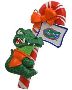 Florida gator christmas ornament. I want this for my tree in my room