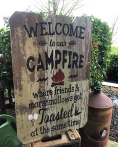 This * Welcome To Our Firepit ,Where Friends and Marshmallows Get Toasted At The Same Time, Handmade, Word Art, Wood Sign will be made wood flooring with sanded edges. Vinyl Flooring, Word Art, Barn Wood, Four Square, Wood Signs, Marshmallows, Words, City, Handmade