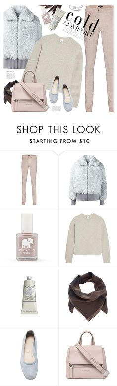 """basketweave sweater"" by jesuisunlapin ❤ liked on Polyvore featuring Arma, Vika Gazinskaya, FOSSIL, Iris & Ink, Therapy, Burberry, Maryam Nassir Zadeh, Givenchy and Midsummer Star"