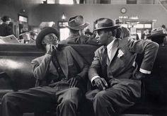 Greyhound Bus Terminal. New York City. 1947