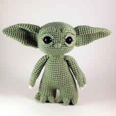 Baby Yoda Inspired Amigurumi Pattern - Crochet - Crochet and Knit - Baby Yoda Inspired Amigurumi Pattern – Crochet - Crochet Animals, Crochet Toys, Crochet Baby, Free Crochet, Crochet Round, Crochet For Kids, Star Wars Crochet, Crochet Disney, Crochet Dolls Free Patterns