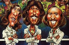 Bee Gee caricature