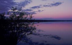 Gosling Lake near Happy Valley-Goose Bay Labrador, Canada Happy Valley Goose Bay, Newfoundland And Labrador, Military Life, Far Away, Nature Photos, New England, Canada, Sunset, Heart