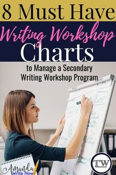 Here is my personal definition of a writing chart: any information displayed in your classroom to support students in their endeavors as writers. Charts can be small, medium or big. They can be handwritten or typed. They can be written on whiteboards or p