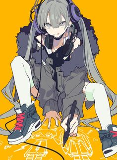 Anime Drawings Sketches, Anime Sketch, Cute Drawings, Cartoon Kunst, Cartoon Art, Anime Art Girl, Manga Art, Manga Anime, Anime Poses Reference