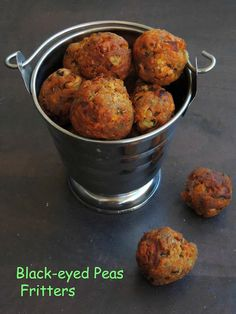 Black eyed pea fritters with hot pepper sauce recipe black eyed black eyed peas fritterscow peas fritters forumfinder Choice Image