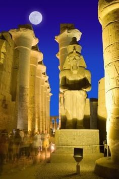 Egypt - I think the best vacation I ever took - the people were delightful and the sights breathtaking . . .