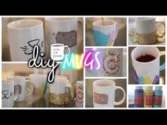 Fun DIY Sharpie Mugs! + Bloopers! ♡ - YouTube