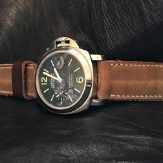 "563 Synes godt om, 1 kommentarer – Shah (@tiptopleather) på Instagram: ""22 mm open Nato style straps in Veg Tan Natural leather with 🔥 edge polished.…"""