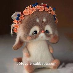 Serenity One Wise Life - Fotos Cute Stuffed Animals, Cute Baby Animals, Needle Felted Animals, Felt Animals, Wet Felting, Needle Felting, Little Prince Fox, Cute Toys, Felt Toys