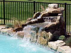 Simple Waterfall for Pool