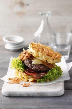 Rezept für leckeren Spaetzle-Burger
