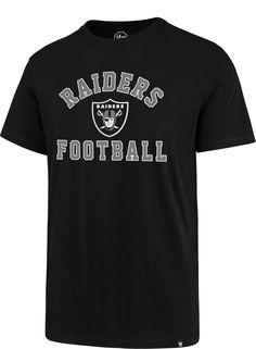 47 Men s Oakland Raiders Rival Black T-Shirt c893d007dc70