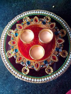 Thali decorative