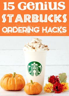 Starbucks Drinks to Try - How to Save BIG this Fall!  You won't believe how much you'll save with these little known tips and tricks!  Have you tried any of these yet??