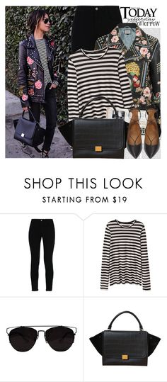 """""""2552. Blogger Style: Sincerely, Jules"""" by chocolatepumma ❤ liked on Polyvore featuring Oris, STELLA McCARTNEY, Proenza Schouler, CÉLINE, Aquazzura, BloggerStyle, CasualChic and sincerelyjules"""