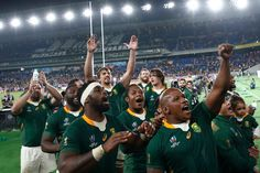 Rugby World Cup: South Africa Edges Wales to Reach Final With a semifinal victory the Springboks will get a chance at their third title. England stands in their way. World Cup Champions, Rugby World Cup, Usa Sports, Sports News, South Africa Rugby, Chris Froome, Sports Scores, Cycling News, Chance The Rapper
