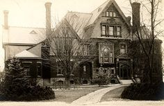 """Historical Architecture of Grosse Pointe –50 Lake Shore Drive, also known as """"Edgemere"""" Edgemere, one of the first grand year-round homes in Grosse Pointe and home to Joseph Berry in 1882. Joseph B…"""