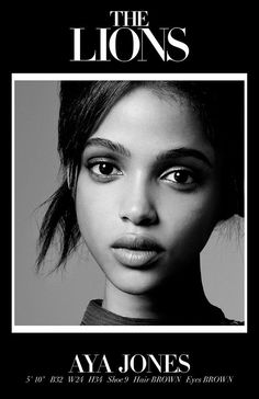 New Faces 2015 - 25 New Models to Watch For This Fashion Week - Aya Jones