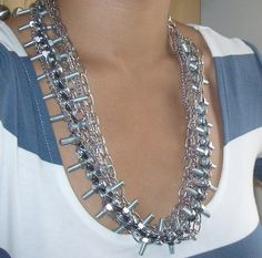 Nuts & bolts necklace