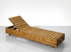 Le projet épargne | Fauteuil de jardin design | Le prix des fauteuils en teck peut en dissuader plus d'un. Nous avons pour vous une solution plus économique : ce fauteuil en épicéa avec lasure couleur bois de teck.Le montage du fauteuil s'effectue en deux étapes. Dans un premier temps vous montez le châssis avec les pieds et les roulettes, et la deuxième étape comprend la réalisation de la surface couchée sous forme de sommier à lattes. Veuillez noter que le bois d'épicéa – même revêtu de…
