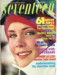November 1975 cover with Hope Sheridan
