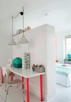 Inspiração: base branca aceita tudo. - dcoracao.com - blog de decoração e tutorial diy