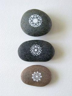 Patterned Circle Stones - Natasha Newton