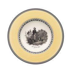 "Villeroy & Boch ""Audun"" Assorted Rim Soup Bowls"