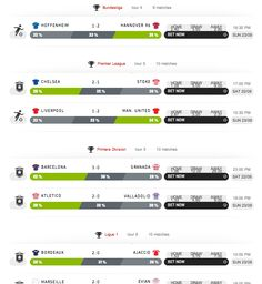 New predictions for 21/09 - 24/09 up at http://betegy.com/predictions; extreme and/or recommended bets for Bundesliga, Ligue 1, Premier League, La Liga, & Lega Serie A