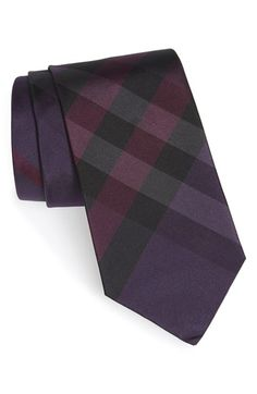 Burberry London 'Clinton' Check Silk Tie available at #Nordstrom