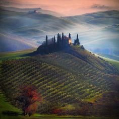 Tuscan atmosphere.. by Edmondo Senatore