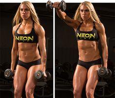 Ashley Hoffmann's Summer Shoulder Workout - Bodybuilding.com