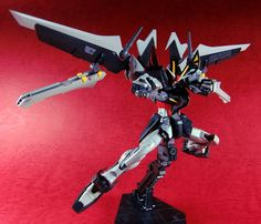 RG 1/144 Strike Noir Gundam Custom Build - Gundam Kits Collection News and Reviews