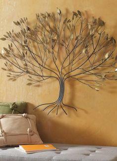 Metal Tree Artwork.