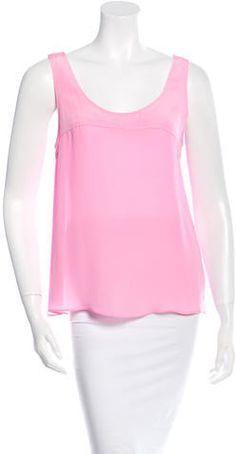 Jenni Kayne Silk Paneled Top Jenni, Scoop Neck, Tunic Tops, Silk, Stylish, Women, Fashion, Moda, Fashion Styles