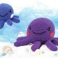 Octopus Amigurumi ~ Free Russian Pattern