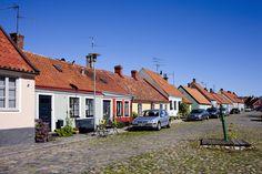 Simrishamn is a small coastal town in Österlen on Skånes east coast. Photo by Conny Fridh   Hier zijn we ook geweest. Trelleborg, About Sweden, Hostel, East Coast, Stockholm, Countries, Copenhagen, Sweden