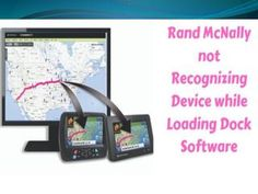 If you are a user of Rand McNally and you are facing the problem of Rand McNally not recognizing device while loading dock then, this blog will help you solve the problem. #Rand_McNally_Gps_Update #Rand_McNally_not_Connecting_to_Computer #Rand_McNally_not_Recognizing_Device Online Support, The Help, Software, Coding, Phone, Blog, Telephone, Blogging, Mobile Phones