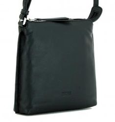 kleine Schultertasche Bree Toulouse 1 schwarz Cross Shoulder S - Bags & more Bree, Toulouse, Leather Cord, Sachets, Black