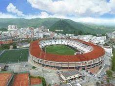 Estadio Palogrande (Manizales) Soccer Stadium, Football Stadiums, Baseball Field, Continents, City Photo, Around The Worlds, Europe, Temples, Colombia Map