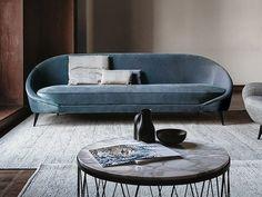 650 NIDO Fabric sofa by Vibieffe design Alessandro Buccella