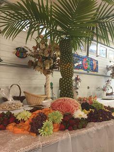 Palm Tree & Roses