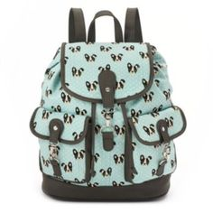 Candie's Chloe Boston Terrier Dog Backpack