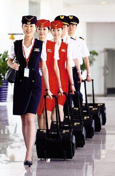 Shenzhen Airlines cabin crew