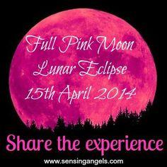 Full Pink Moon Lunar Eclipse - 15th April 2014
