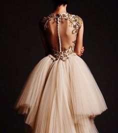 dress beaded long dress formal dress prom dress pretty dress ivory dress long prom dress long evening dresses no back gorgeous dress amazing gold tumblr tumblr dress
