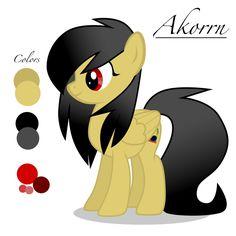 Akorrn pony OC by Akorrn.deviantart.com on @DeviantArt