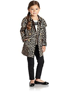 Juicy Couture - Toddler's & Little Girl's Trench Coat